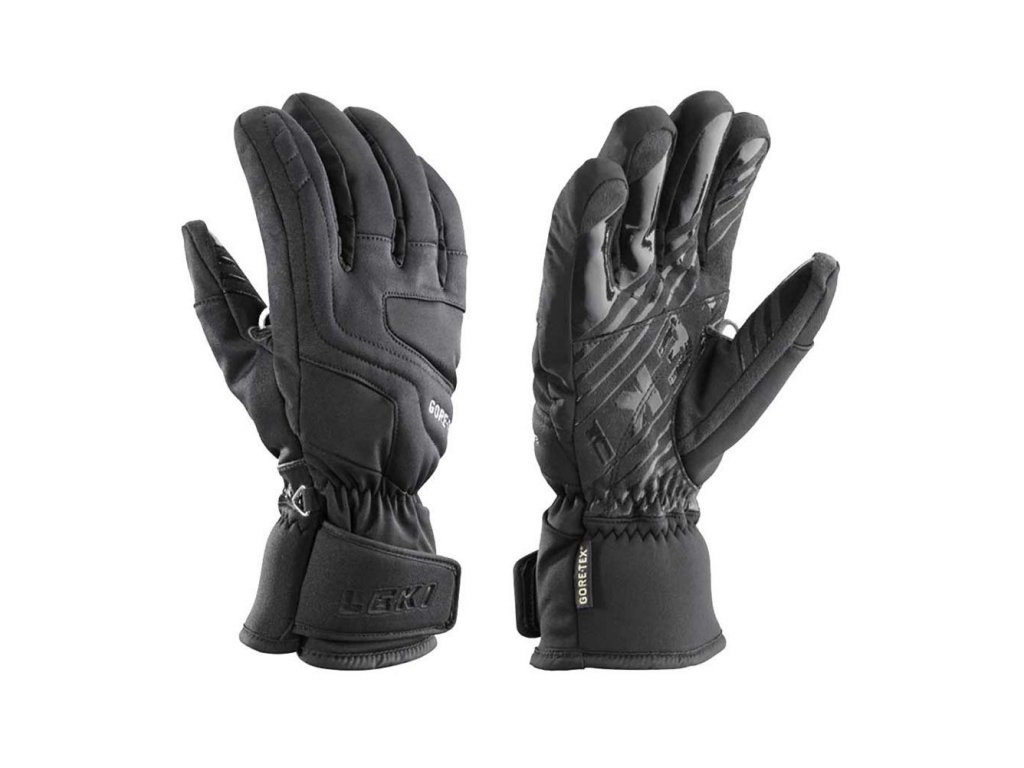 LEKI Glove Summit S GTX Lady black