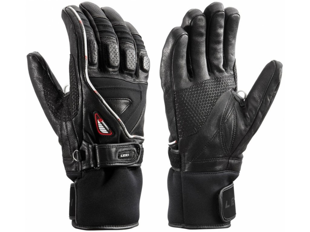 LEKI Griffin Pro S Speed System black chrome