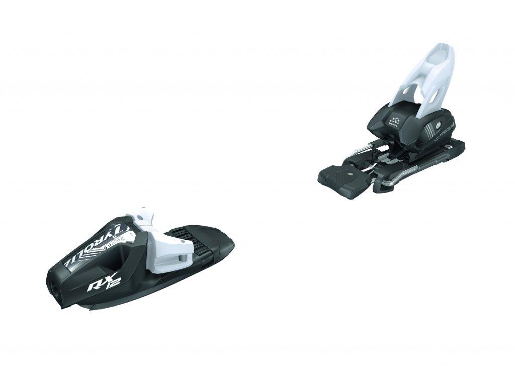 lyžařské vázání TYROLIA vázání TYROLIA RX 12, brake 95 (D), matt black/white, 18/19