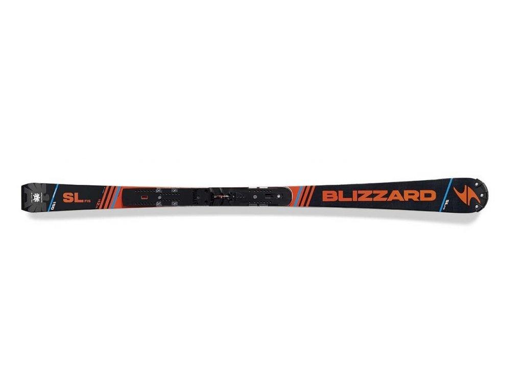 sjezdové lyže BLIZZARD SL Racing FIS + WC plate, 17/18, (R>12 m)  + servis lyží + montáž + seřízení vázání ZDARMA