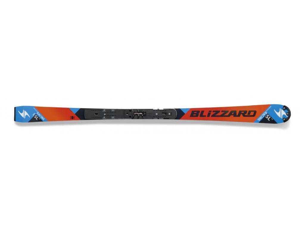 sjezdové lyže BLIZZARD SL JR Racing FIS + WC plate, AKCE