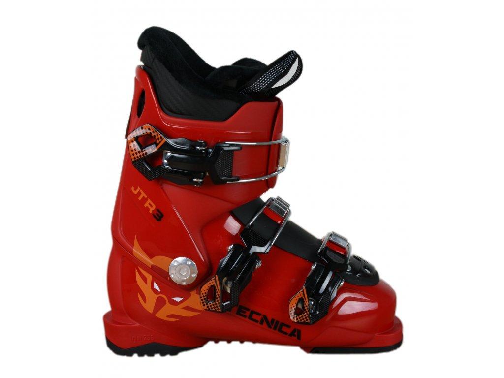 lyžařské boty TECNICA JTR 3, deep red, rental, 18/19