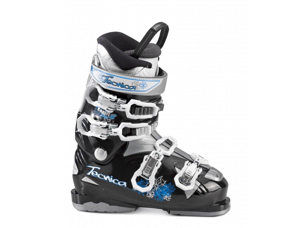 lyžařské boty TECNICA Esprit 8 RT, black/silver, AKCE