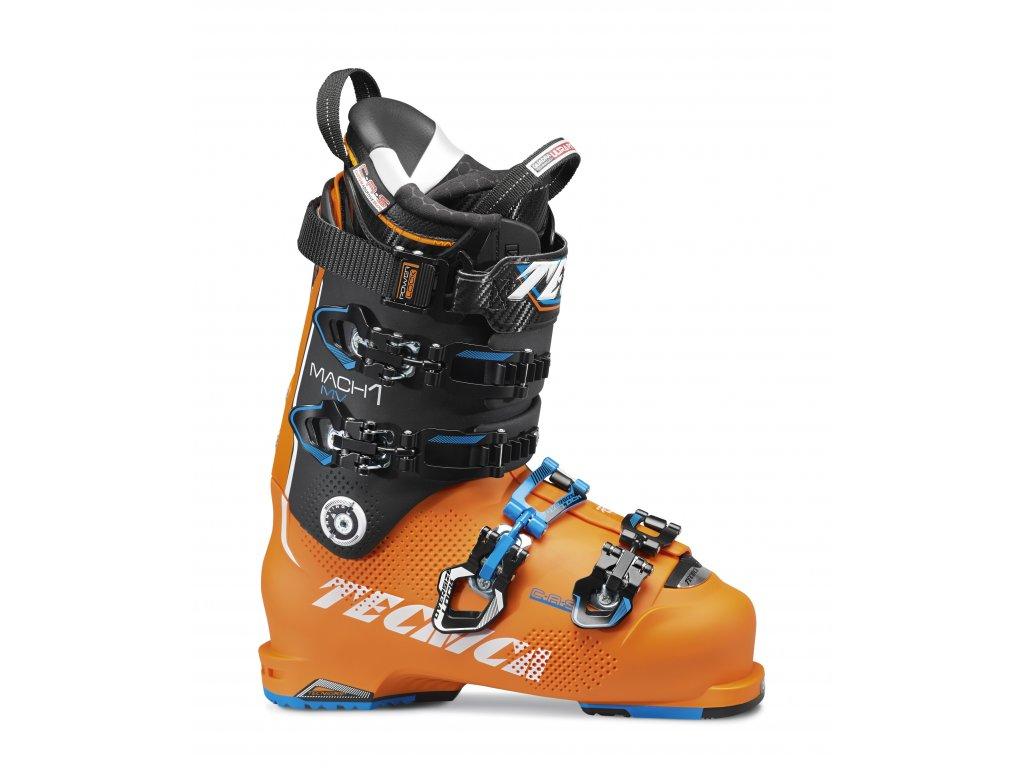 lyžařské boty TECNICA Mach1 130 MV, bright orange/black, AKCE