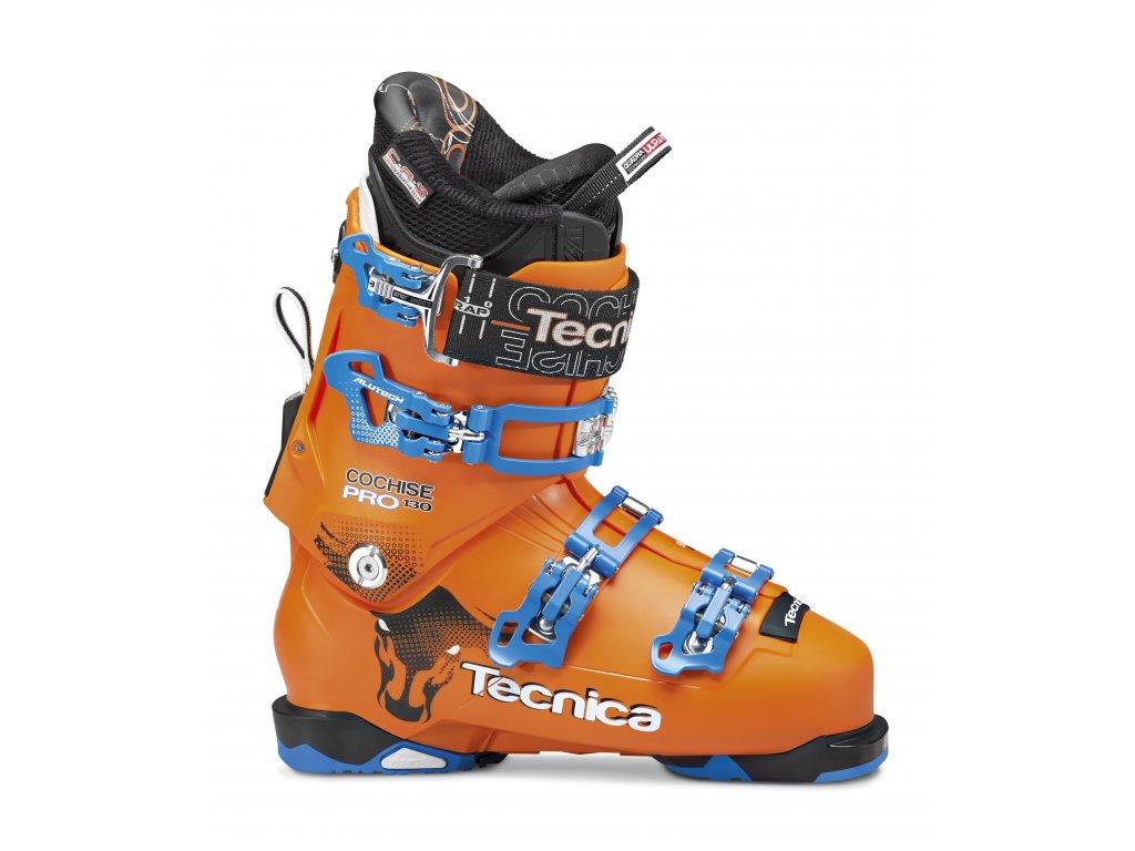 lyžařské boty TECNICA Cochise 130 Pro 98 mm, bright orange, AKCE