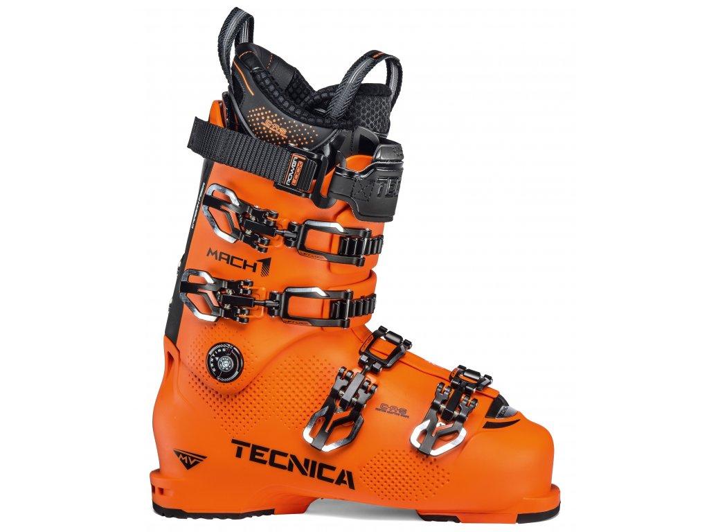 lyžařské boty TECNICA TECNICA Mach1 MV 130, ultra orange, 19/20