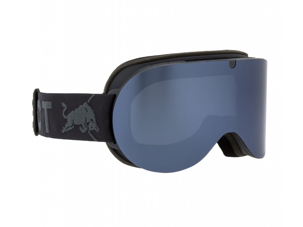 lyžařské brýle RED BULL SPECT Goggles, BONNIE-008, matt light blue frame/bright blue headband, lens: silver snow CAT3, brown with silver mirror
