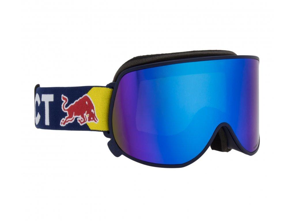 lyžařské brýle RED BULL SPECT Goggles, MAGNETRON EON-007, matt dark blue frame/blue headband, lens: blue snow CAT3