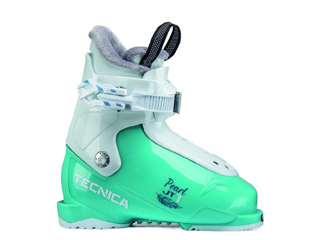 lyžařské boty TECNICA JT 1 Pearl, light blue, 19/20