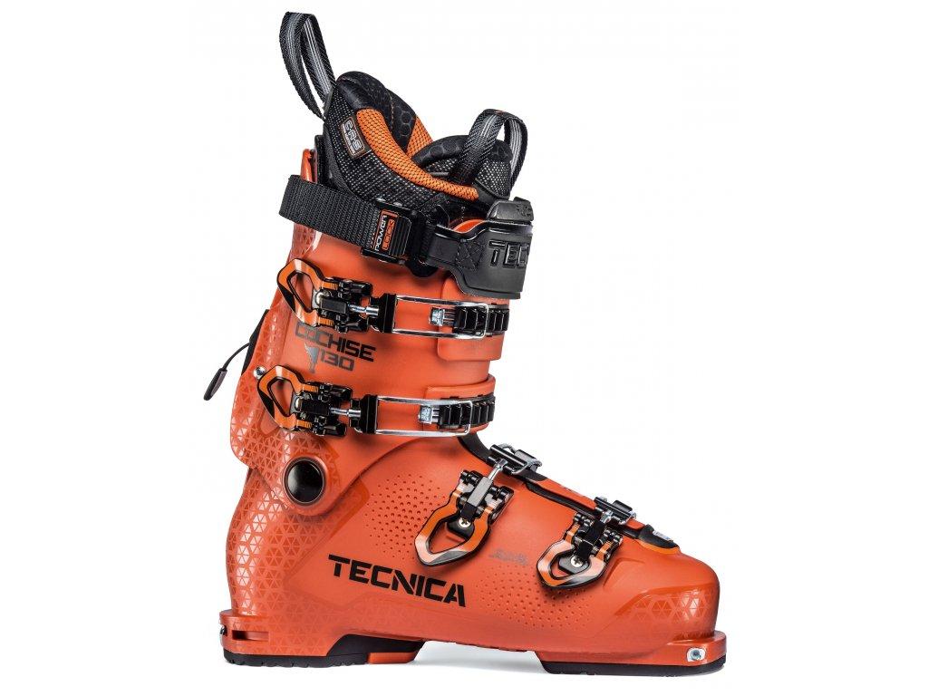 lyžařské boty TECNICA Cochise 130 DYN, progressive orange, 19/20