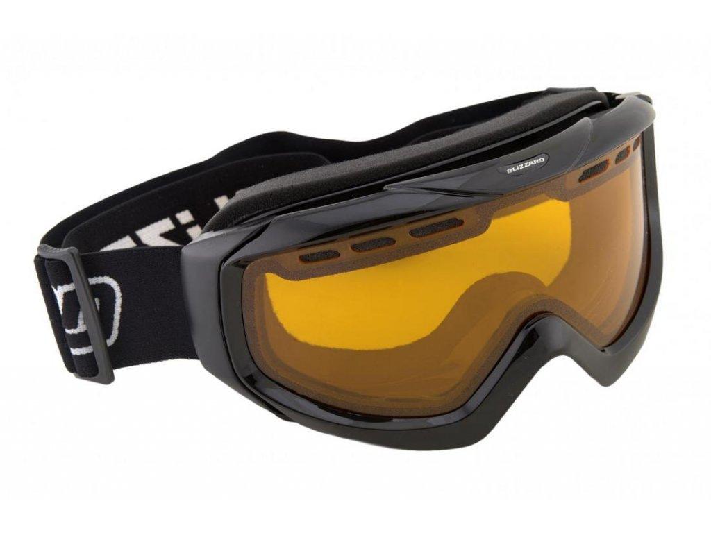 lyžařské brýle BLIZZARD BLIZ Ski Gog. 906 DAVO, black, amber1
