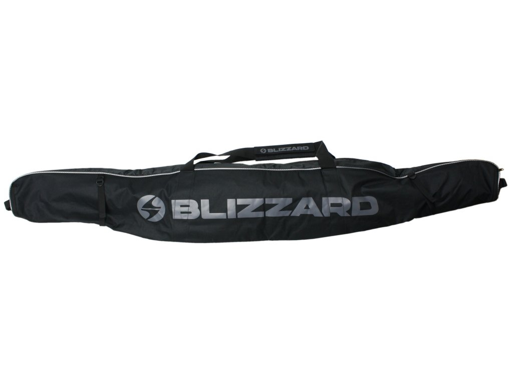 vak na lyže BLIZZARD Ski bag Premium for 1 pair, black/silver, 165-185 cm