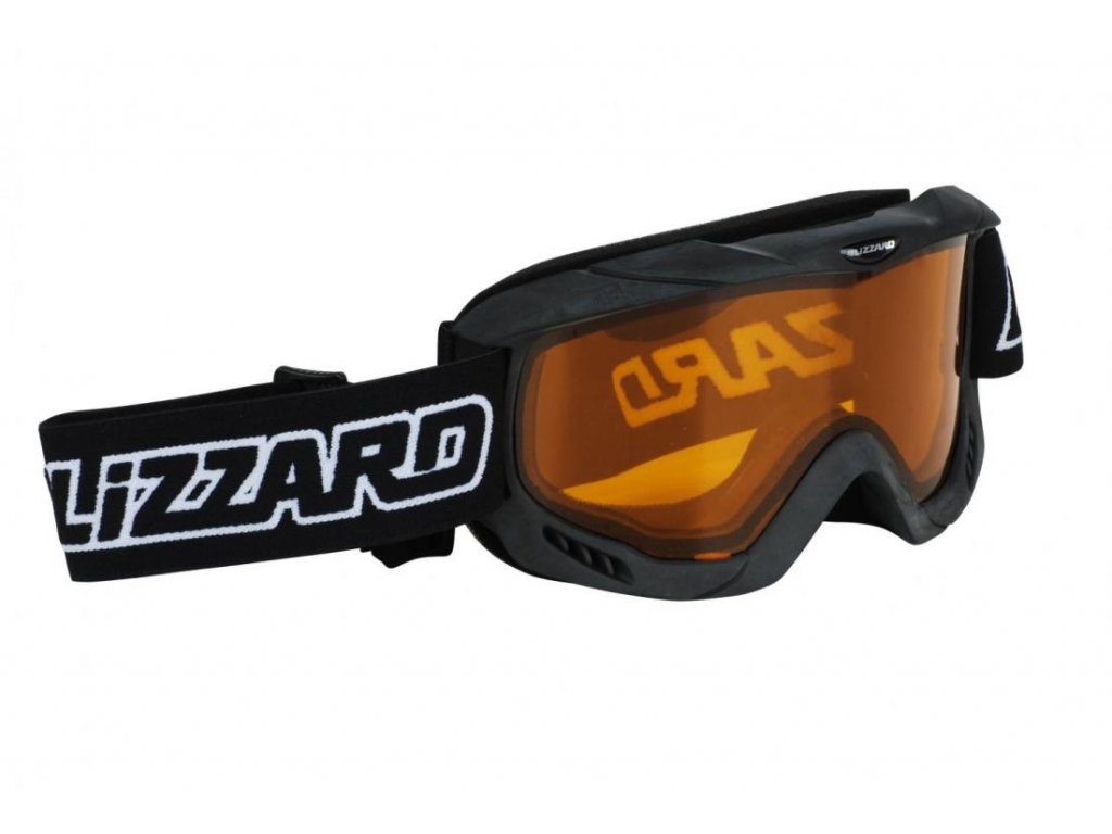lyžařské brýle BLIZZARD BLIZ Ski Gog. 911 DAO, black , amber1