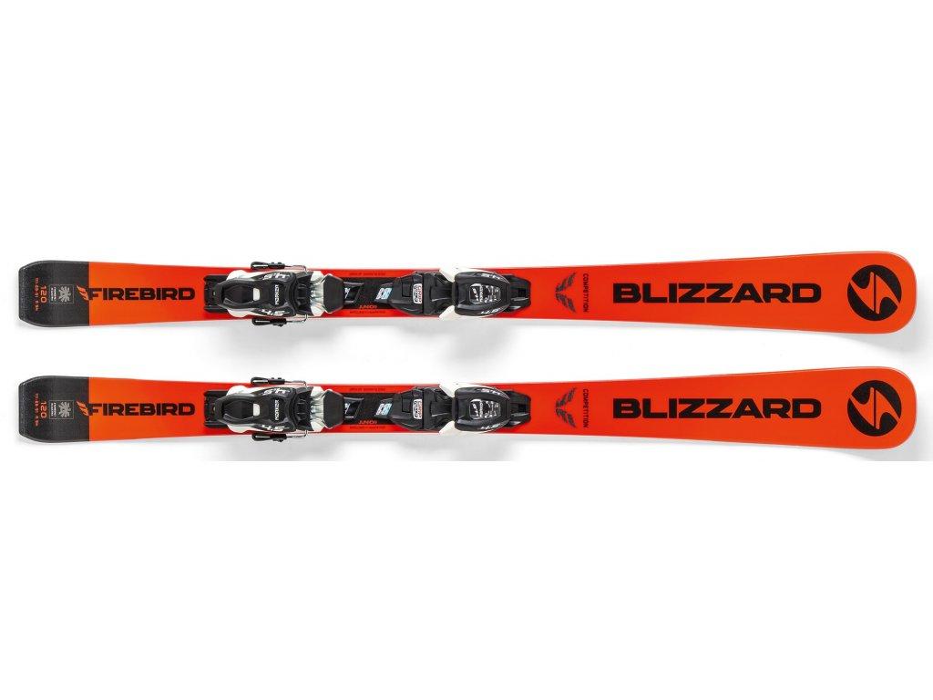 sjezdové lyže BLIZZARD FIREBIRD COMP.JR + vázání FDT JR 7, 19/20