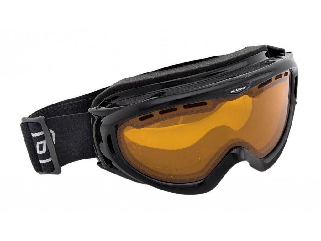 lyžařské brýle BLIZZARD BLIZ Ski Gog. 905 DAVO, black, amber1