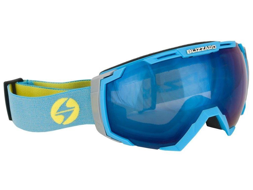 lyžařské brýle BLIZZARD BLIZ Ski Gog. 926 DAVZSO, neon blue, smoke2, blue mirror