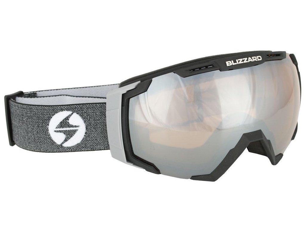lyžařské brýle BLIZZARD BLIZ Ski Gog. 926 DAVZSO , black , amber2, silver mirror