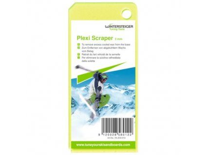 spotřební materiál WINTERSTEIGER Plexi Scraper 130x60x3mm
