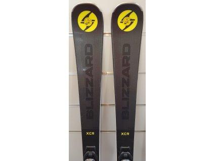 testovací lyže BLIZZARD XCR, grey/yellow, + vazani BLIZZARD TLT 10 DEMO, 19/20  + seřízení vázání ZDARMA