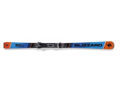 set sjezdové lyže BLIZZARD RC Ca, black/blue/orange, 16/17 + vázání TP10 DEMO, blk./ant./ora., 16/17  + servis lyží + montáž + seřízení vázání ZDARMA