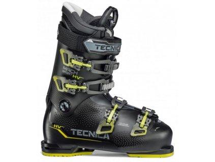 lyžařské boty TECNICA Mach Sport 80 HV, black/neon yellow, 20/21