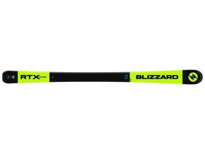 sjezdové lyže BLIZZARD II. RTX Power, black/neon/yellow, flat, 19/20