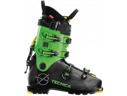 lyžařské boty TECNICA Zero G Tour Scout, black/green, 21/22