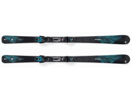 set sjezdové lyže BLIZZARD RTX Elevate, 17/18 + vázání TLT 10 DEMO W, black/silver/blue, 17/18  + servis lyží + montáž + seřízení vázání ZDARMA
