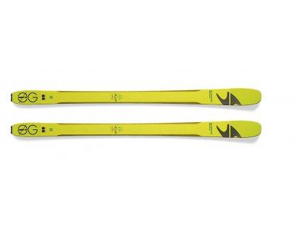 sjezdové lyže BLIZZARD Zero G 085, flat, yellow/green, 17/18  + servis lyží + montáž + seřízení vázání ZDARMA