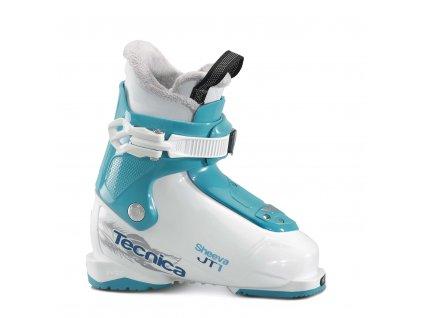 lyžařské boty TECNICA JT 1 Sheeva, white/blue bird, 17/18
