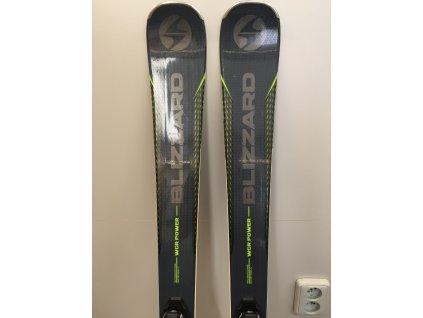 Použité lyže BLIZZARD WCR Power, black/green, rental, 18/19 + vázání Tyrolia SLR 9.0 AC, 18/19  + montáž + seřízení vázání ZDARMA