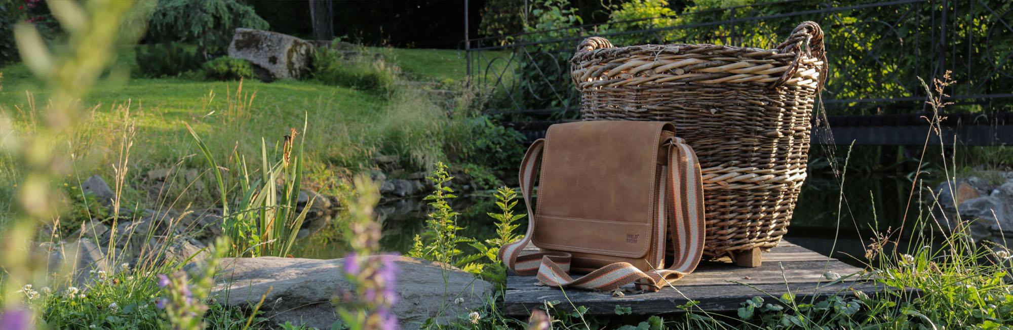 Pánské kožené tašky WILDSKIN