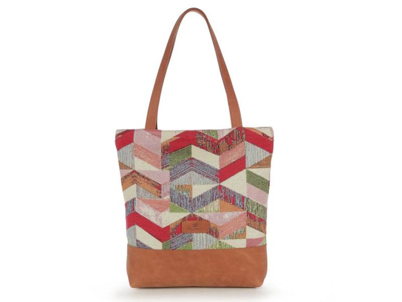 tašky gobelín-kůže