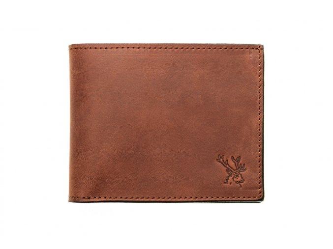 myslivost peněženka DAVE s ražbou jelena (1)