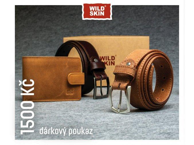 1500 Kc darkovy poukaz WILDSKIN (0)