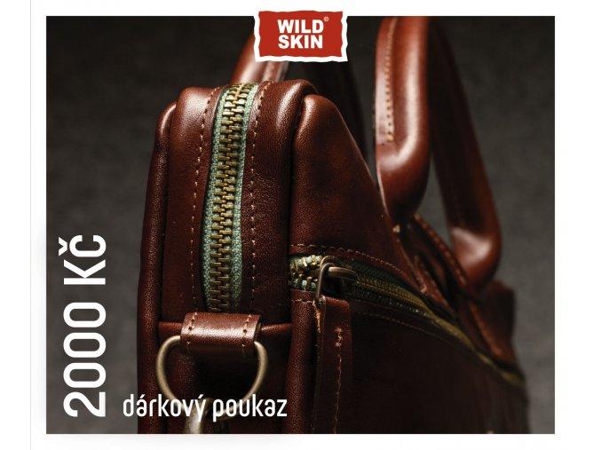 2000 Kc darkovy poukaz WILDSKIN (0)
