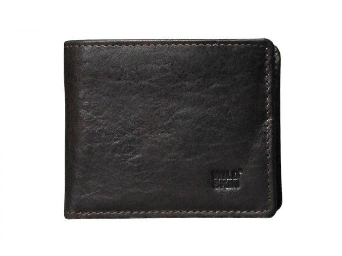 PNZ.020413 peněženka GORDON tmavě hnědá (0)