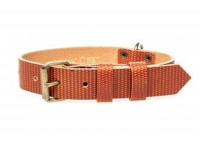 OBV.100131 TOP Kožený obojek Diamant Topaz 30 mm (2)