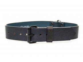 OBV.100161 MOD Kožený obojek Diamant modrá 40 mm (2)
