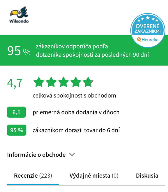 Vélemények - wilsondo.sk - mobilná verzia