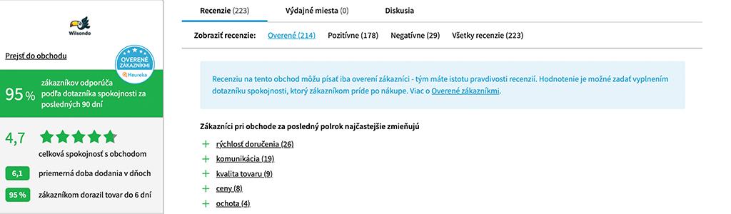 Vélemények wilsondo.sk - pc