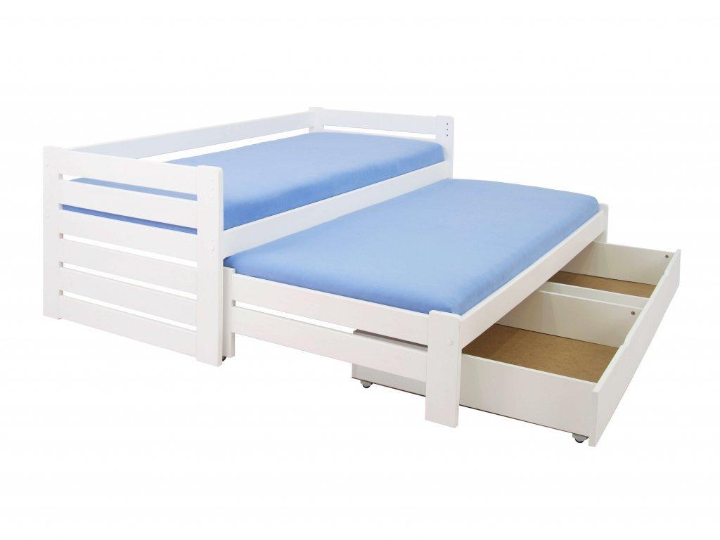 Veronika 11 ágy vendégággyal 90x200  - fehér