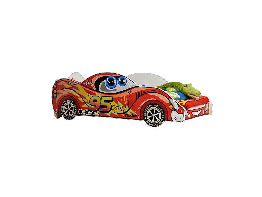 Autós ágy 90x180 - Viper Red