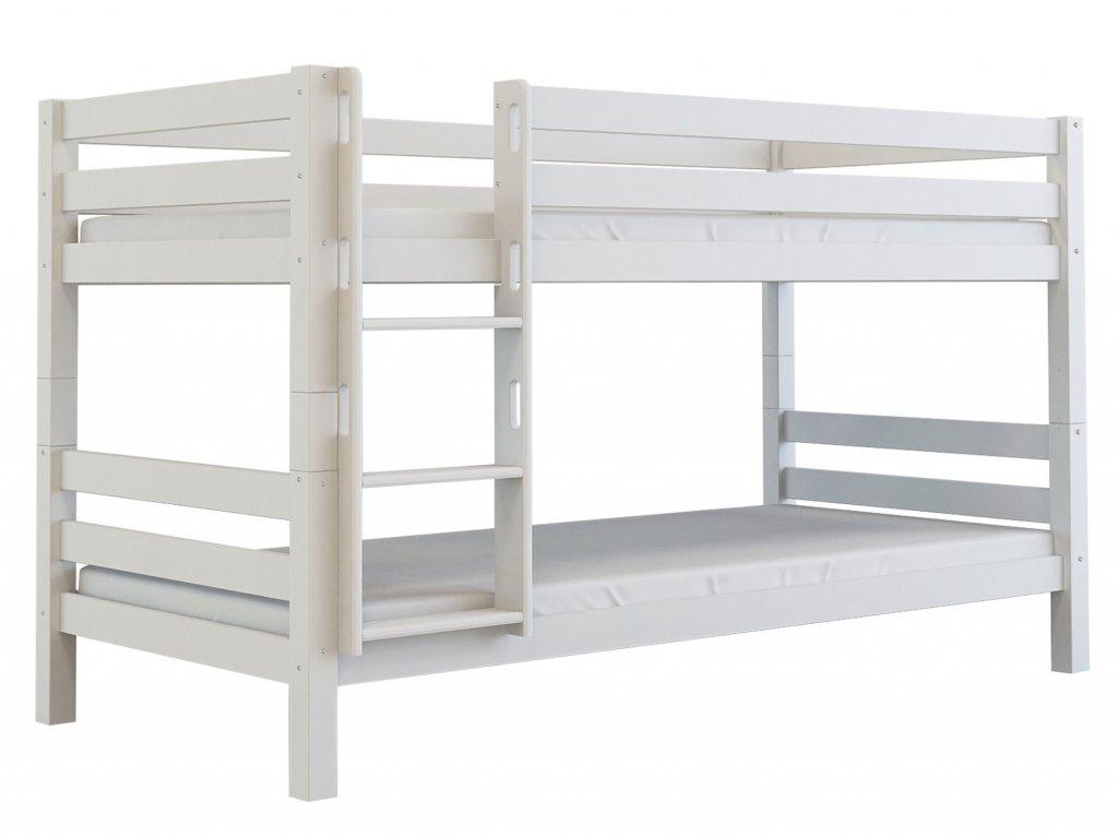 OLIVER 200x90 emelets ágy - fehér