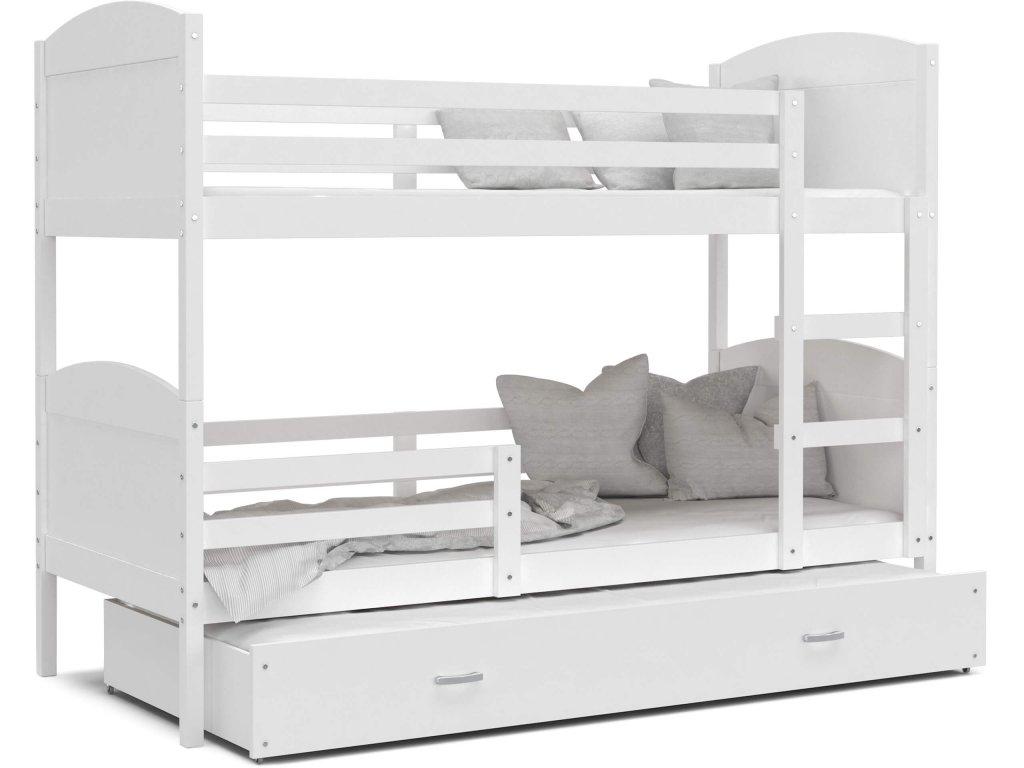 MÁTYÁS 3 emeletes ágy vendégággyal