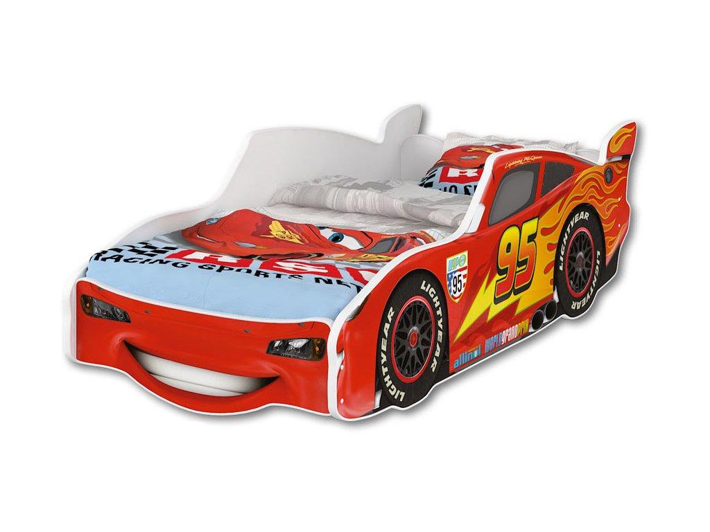 McQueen autós gyerekágy 80x160