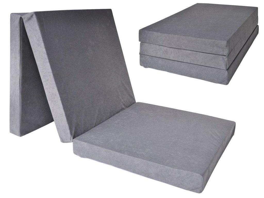 Összehajtható matrac 195x80x15