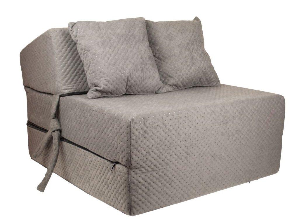 Strukturált összehajtható matrac - 200x15x70 cm