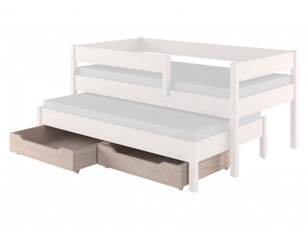 Két darab tároló fiók a Junior ágyhoz