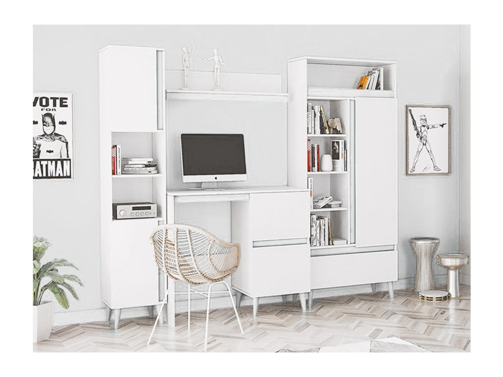 TIP 4 bútorsor - fehér